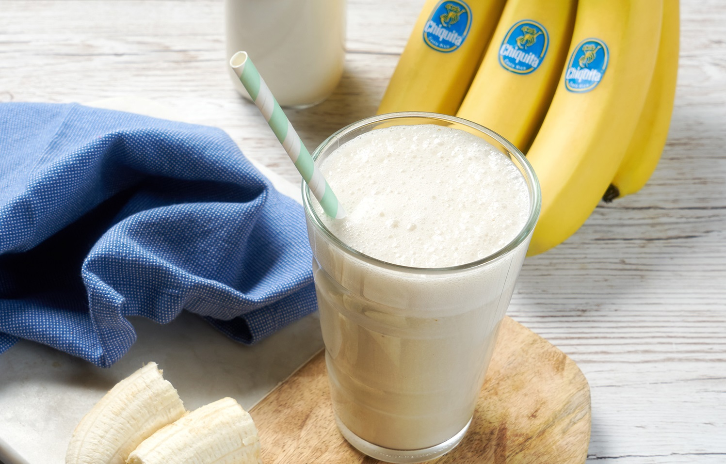 Banana shake after workout!