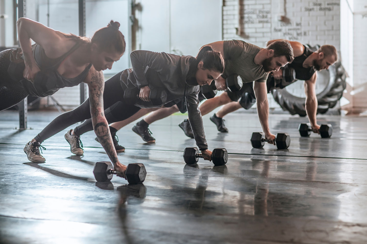 Three HIIT circuits to lose weight