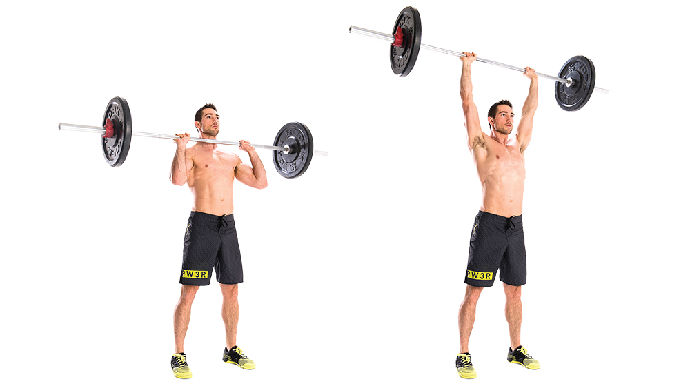 Military press: get strong or die