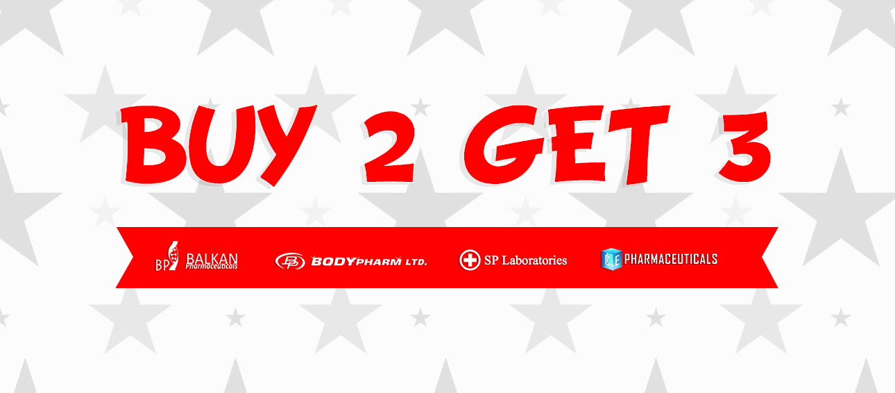 Buy 2 Get 1 Free March Promo