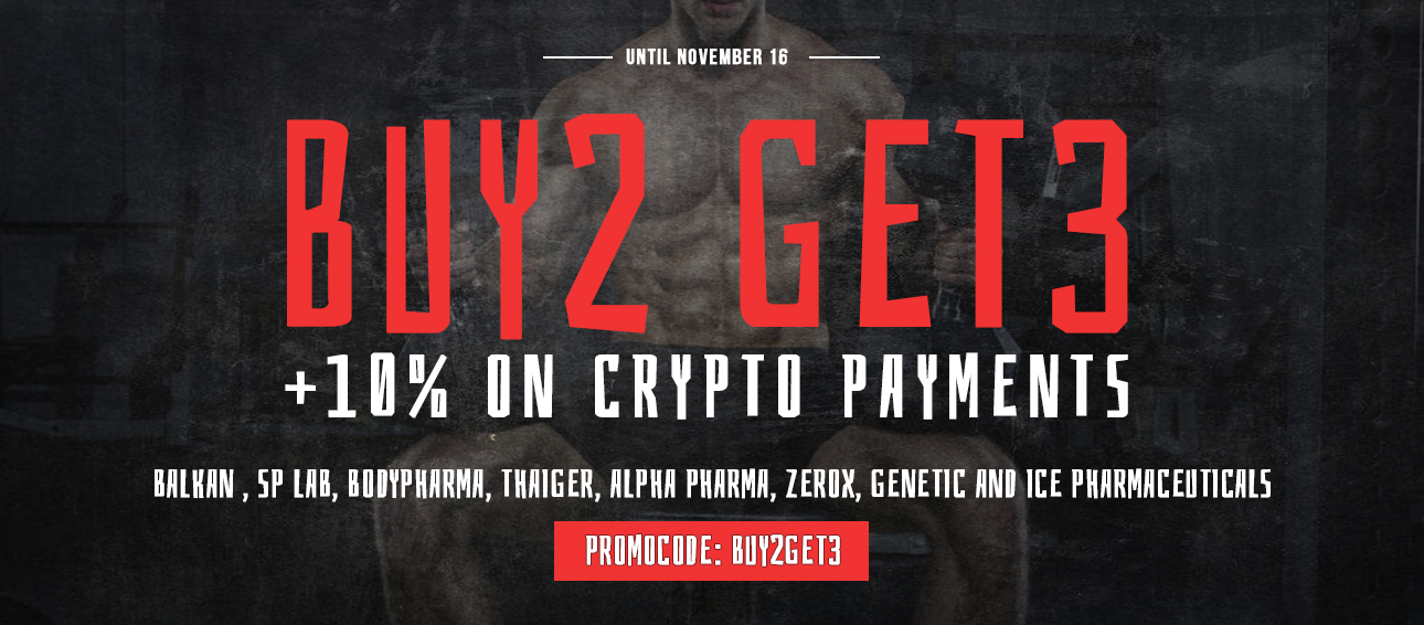 Buy2 get3 + 10% off on Crypto Payments