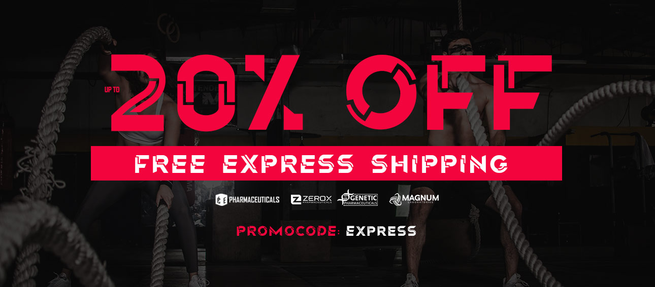 Up to 20% OFF + Express Free